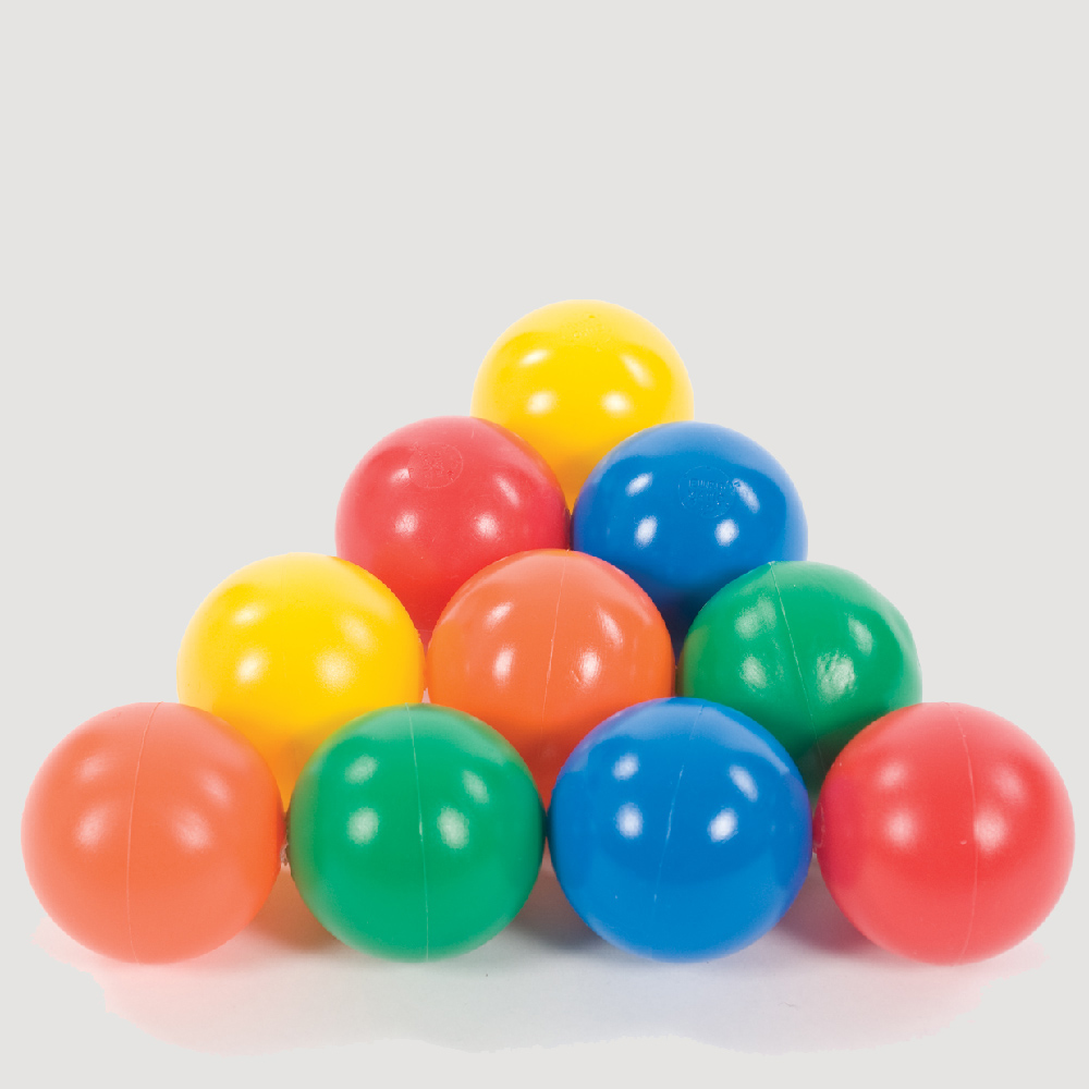 pack of balls for use with sensory ball runs from Smirthwaite