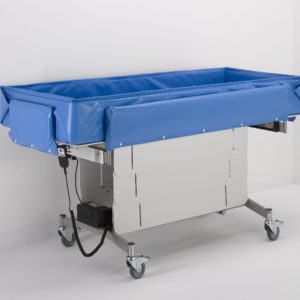 mobi shower trolley