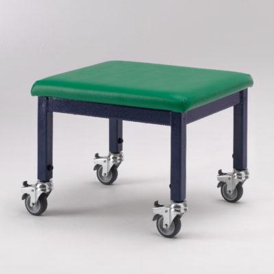 adjustable height wheely stool