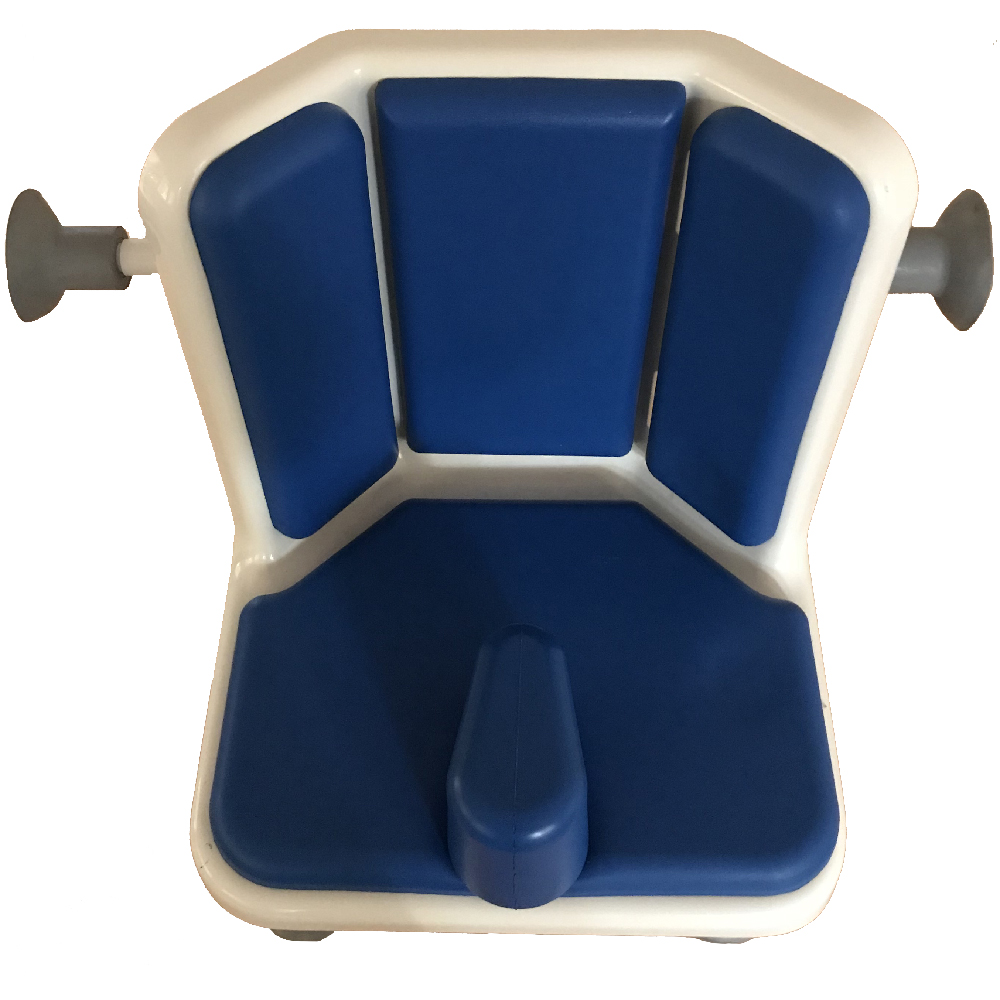 Bath chair with angled back for a little extra support - Smirthwaite