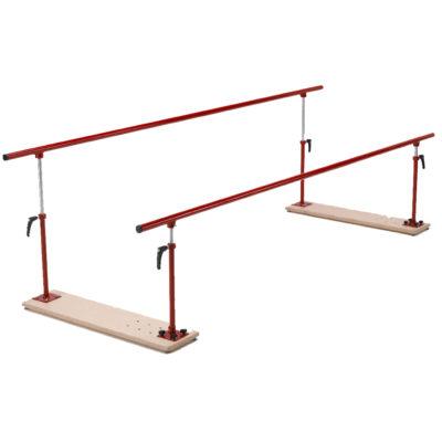 walking parallel bars