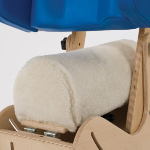 steps hip spica chair lamb skin seat cover