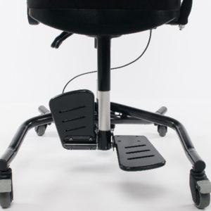 flip-up footrest