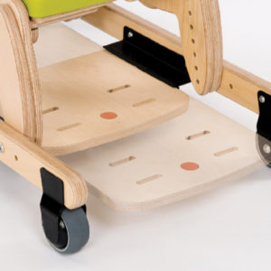 sliding footrest (for use with mobile skis)