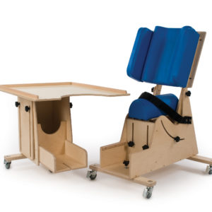 multi-adjustable hip spica chair
