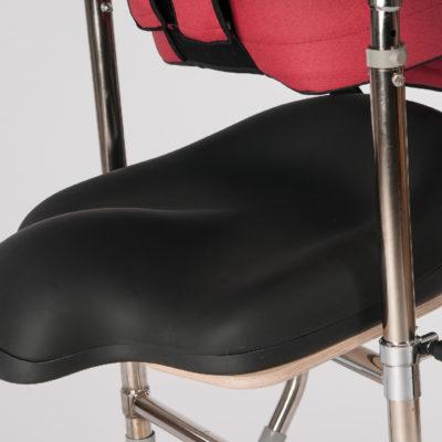 contoured seat