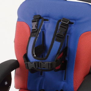 shoulder harness for the mid-line harness