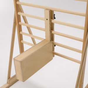walking ladder footboard