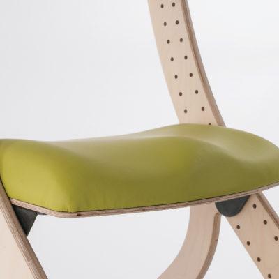 contoured padded seat