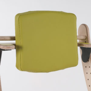 high padded backrest