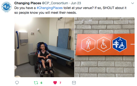#ChangingPlaces
