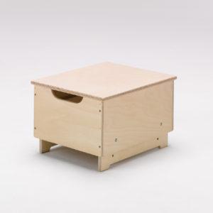 adjustable height box stool