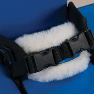 4 point midline pelvic strap
