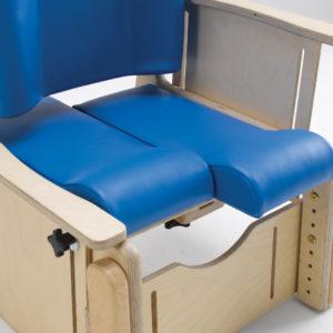 independent adjustable split seat