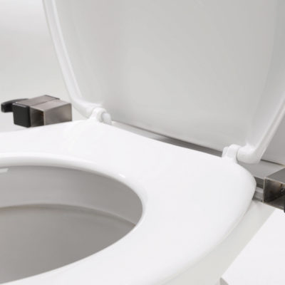 toilet mounting bracket