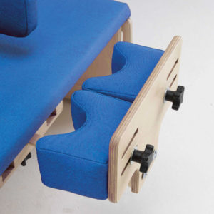 adjustable femoral knee blocks (pair)