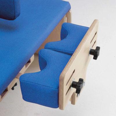 adjustable femoral knee blocks (pair)